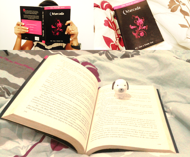 Livro 'Marcada', saga House Of Night