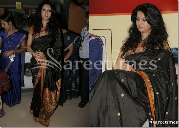 Kamna_Jetmalani_Black_Saree