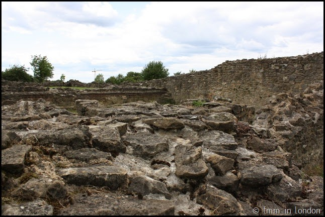 Ruined walls of Lesnes Abbey