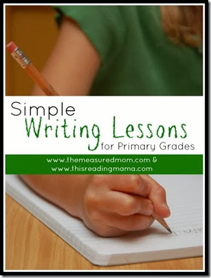 Simple Writing Lessons from The Reading Mama