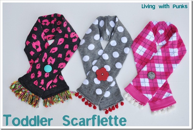 toddler scarflette tutorial