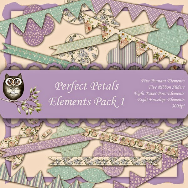 Perfect Petals Elements Front Sheet Pack 1