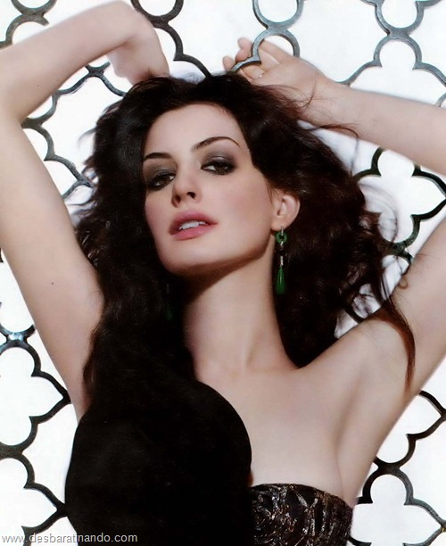 anne hathaway linda sensual sexy desbaratinando  (70)