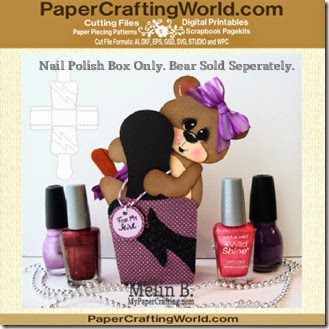 nail polish box ppr cf-325nb
