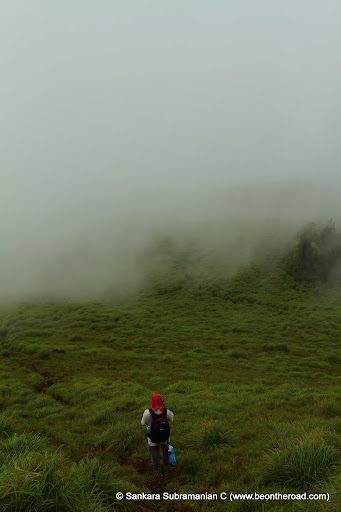 Anshu - photographing the mist