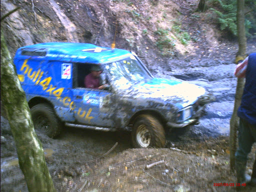 Hull 4x4 off road at Parkwood