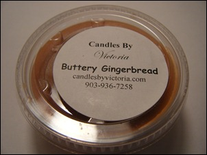 Candles By Victoria - Buttery Gingerbread