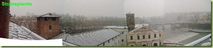 neve roma 2012 isola tiberina 2