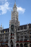 The New Town Hall (Neues Rathaus) in Marienplatz, Munich