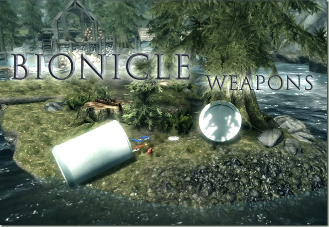 Bionicle Weapons logo