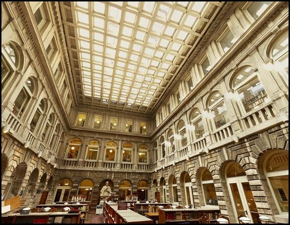 Bibliothèque Sansovino, Venise , Italie-4