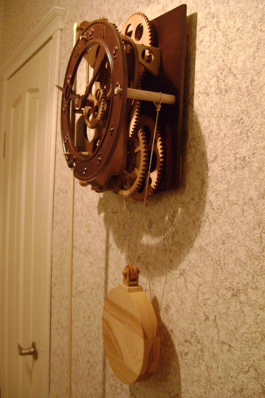 Часы из дерева своими руками чертежи фото 712