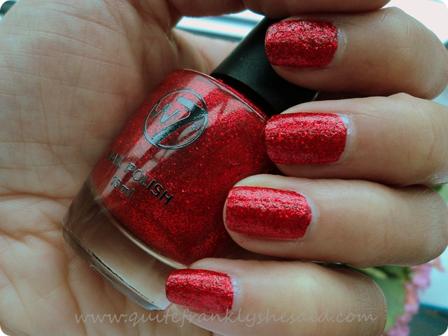 W7 Cosmetics Red Dazzle
