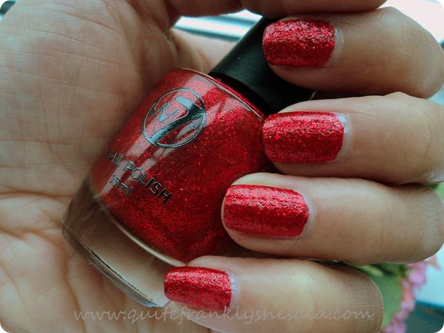 W7 Cosmetics Red Dazzle