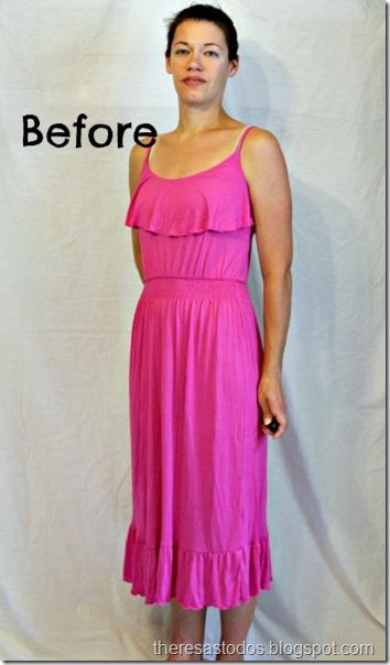 Dress Refashion theresastodos.blogspot.com