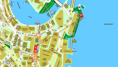 Merlion Map