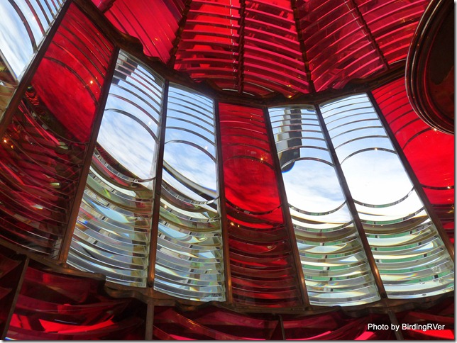 Inside the Lens of the Umpqua River Lighthouse