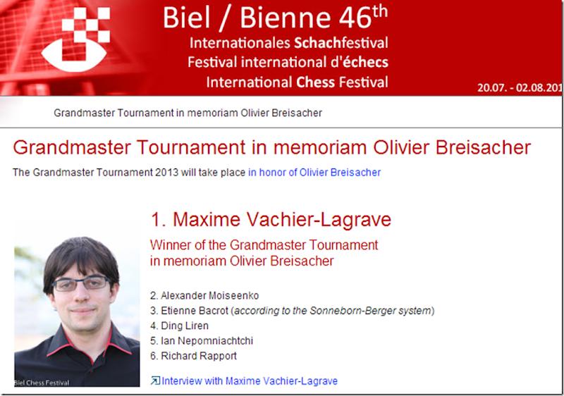 Maxime Vachier-Lagrave winner