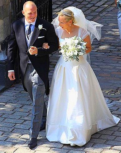Zara Philips Wedding Jimmy Choo Shoes