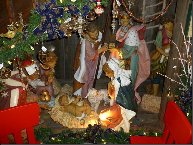 nativity at Santa Claus House