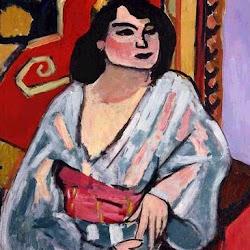 14.- Matisse. La argelina