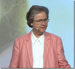 Judy Russell addresses RootsTech 2014