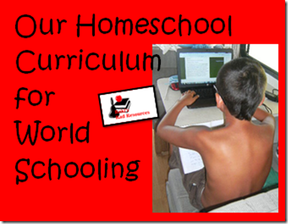 Our homeschool curriculum for world schooling - how we educate our children while we travel around the world in our RV.