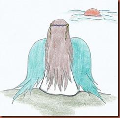 disegno copertina angelo