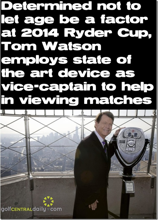 Tom Watson Fuuny