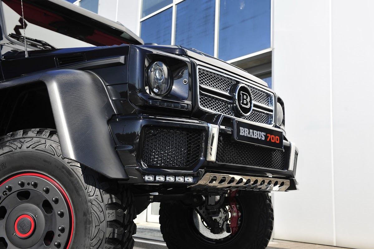 Brabus Makes the Mercedes G 63 AMG 6x6 Even Crazier by Boosting it