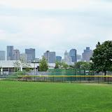 View of Boston Skyline.