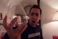 Massive wine glass