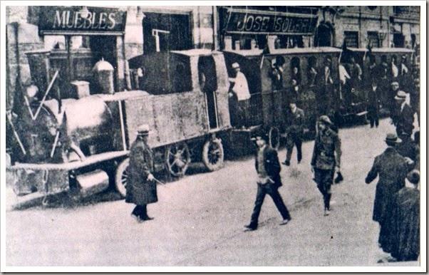 1928.-EXPRESO FALLERO DE VILLABUFANDA.
