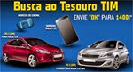 busca ao tesouro tim