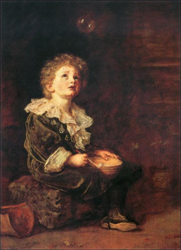 John Everett Millais, Les bulles d savon