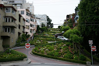 Lombard Street from the bottom