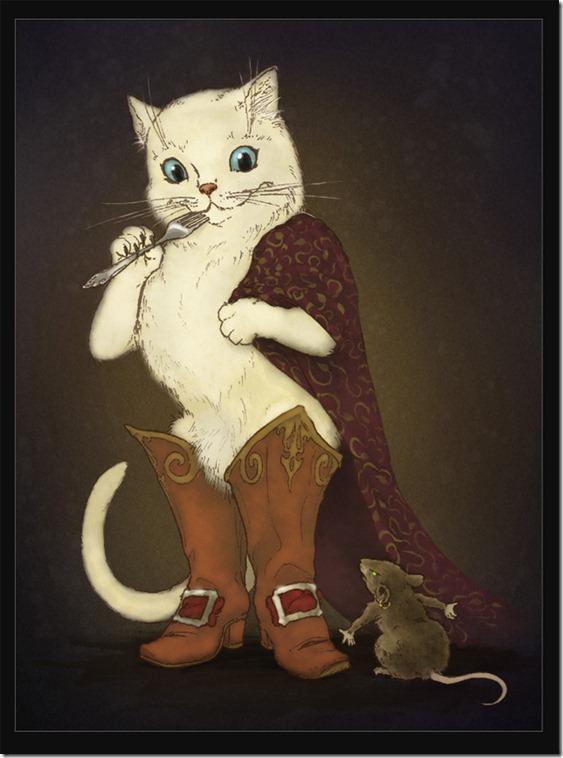El Gato con Botas,El gato maestro,Cagliuso, Charles Perrault,Master Cat, The Booted Cat,Le Maître Chat, ou Le Chat Botté (150)