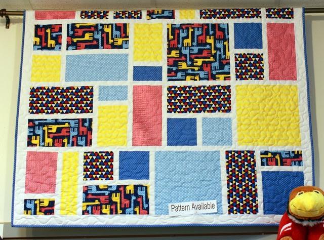 Jack's Blocks quilt