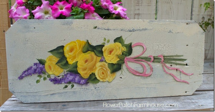 yellow rose painting7