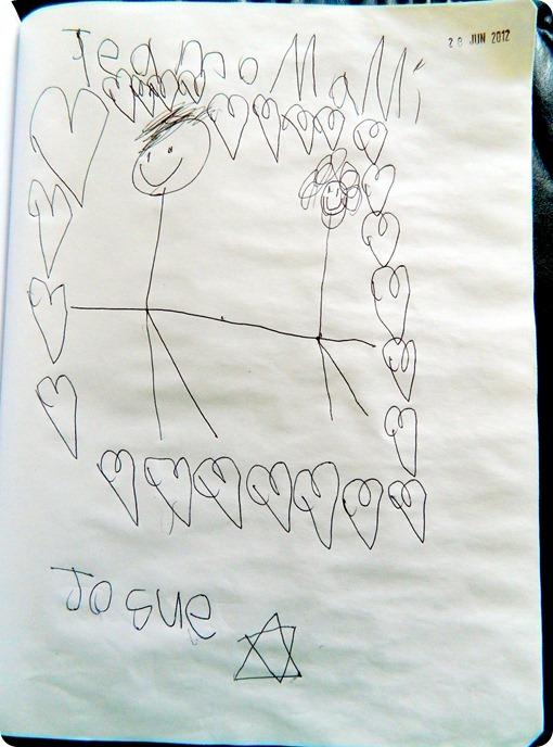 Dibujo te amo mami