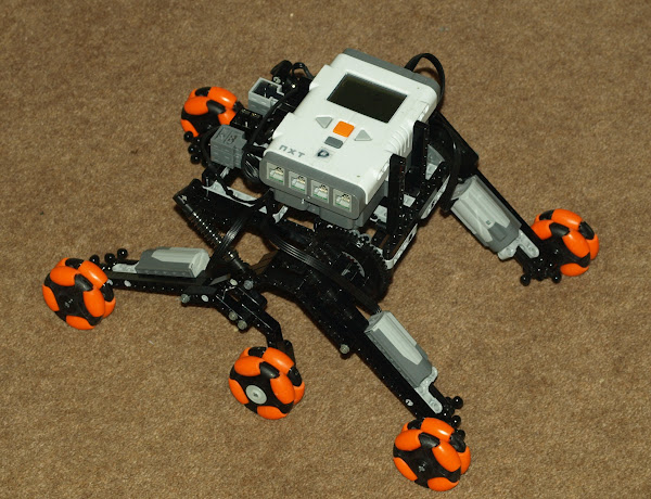 rover 5 robot chassis instructions
