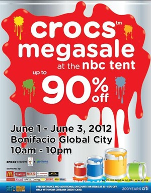 crocs mega sale