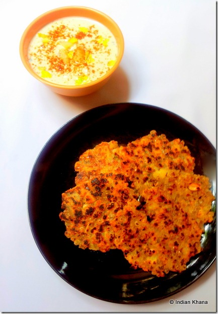 Sabudana Thalipeeth recipe3
