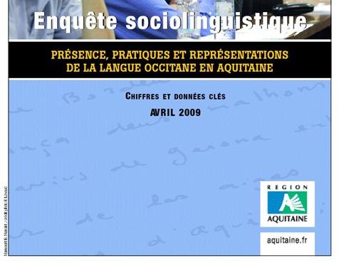 enquesta lingüistica Aquitània