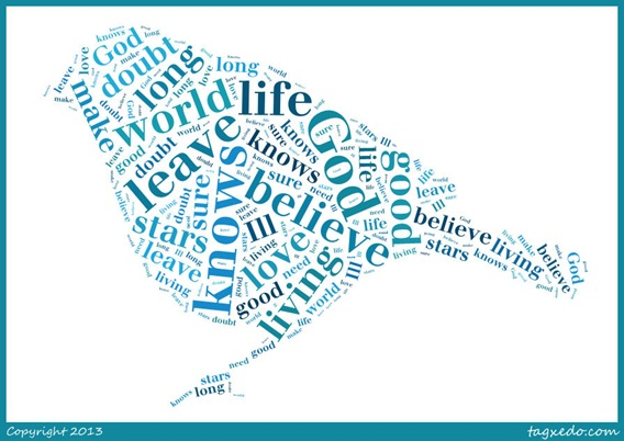 God Only Knows Tagxedo