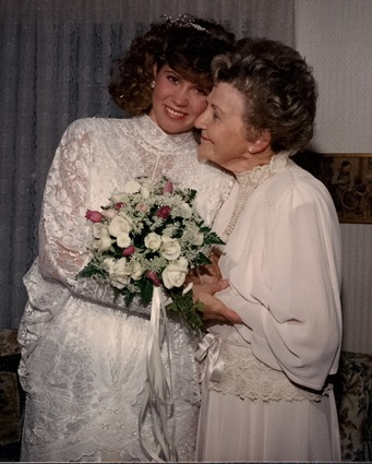 Velda & Julie--my wedding day