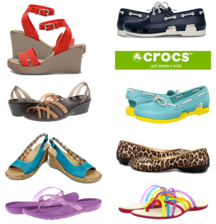 crocs fashion modelos moda