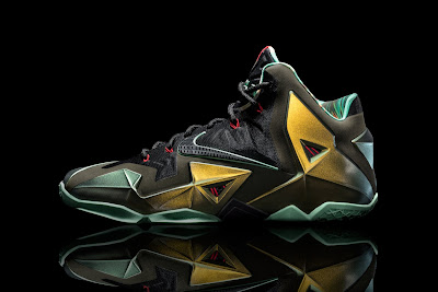 nike lebron 11 gr parachute gold 1 01 kings pride Nike Officially Unveils LEBRON 11. Kings Pride Launches Oct. 12.