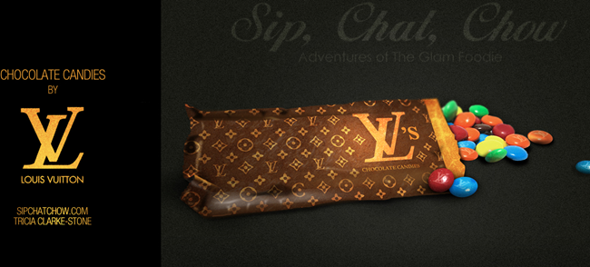 louis vuitton chocolate