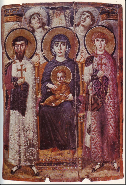 św. teodor - klasztor św. katarzyny na synaju